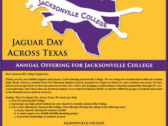 Jag Day Across Texas