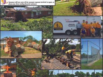 Storm Damage at Jacksonville College