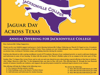 Jaguar Day Across Texas