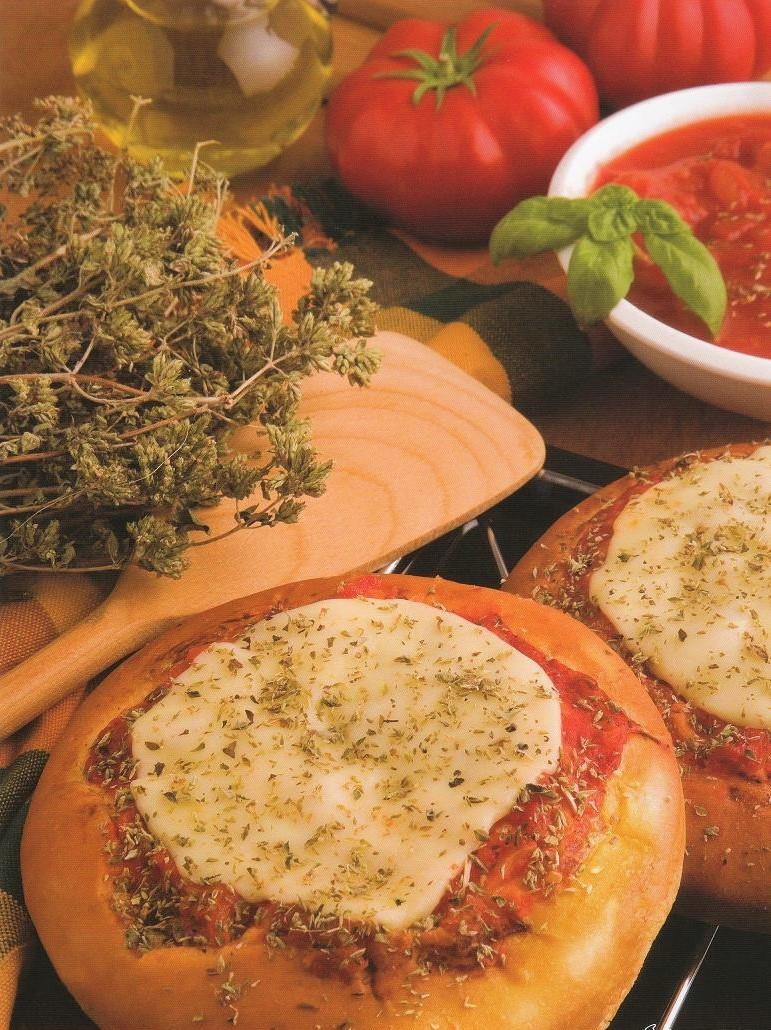 Pizza margherita 150gr - Precooked