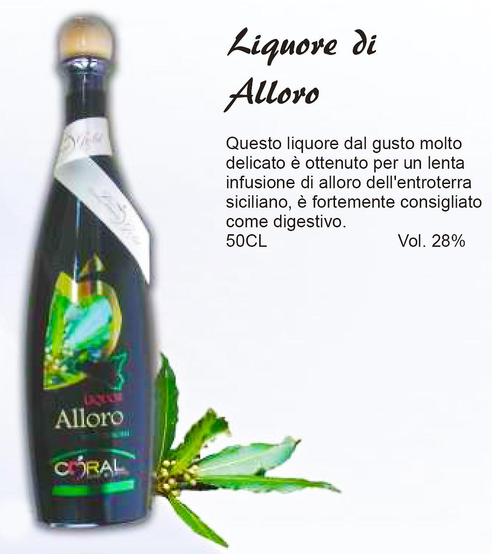 Liquore Siciliano di Alloro