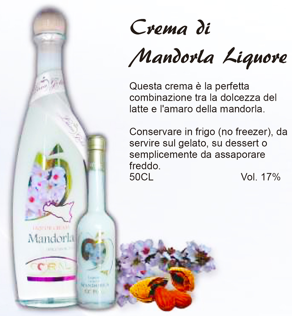 Liquore Siciliano Crema di Mandorla