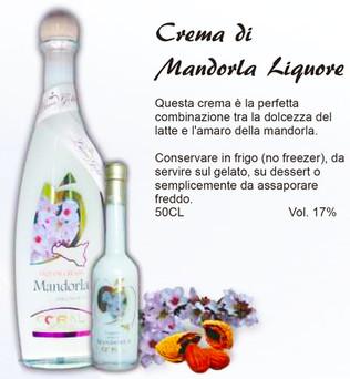 Crema di Mandorla 50cl