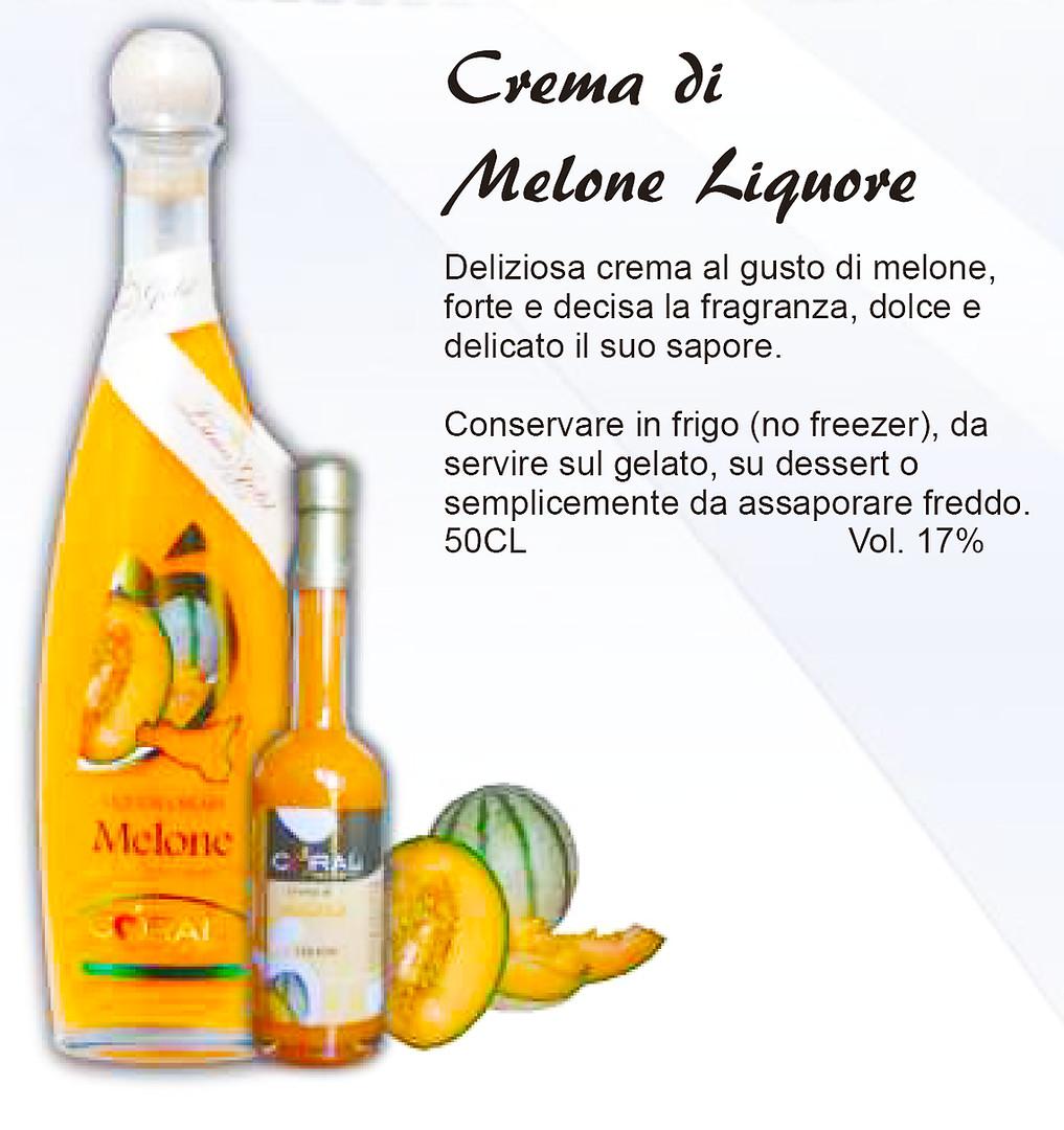 Crema di liquore Melone