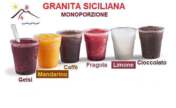 Granita Siciliana Monoporzione