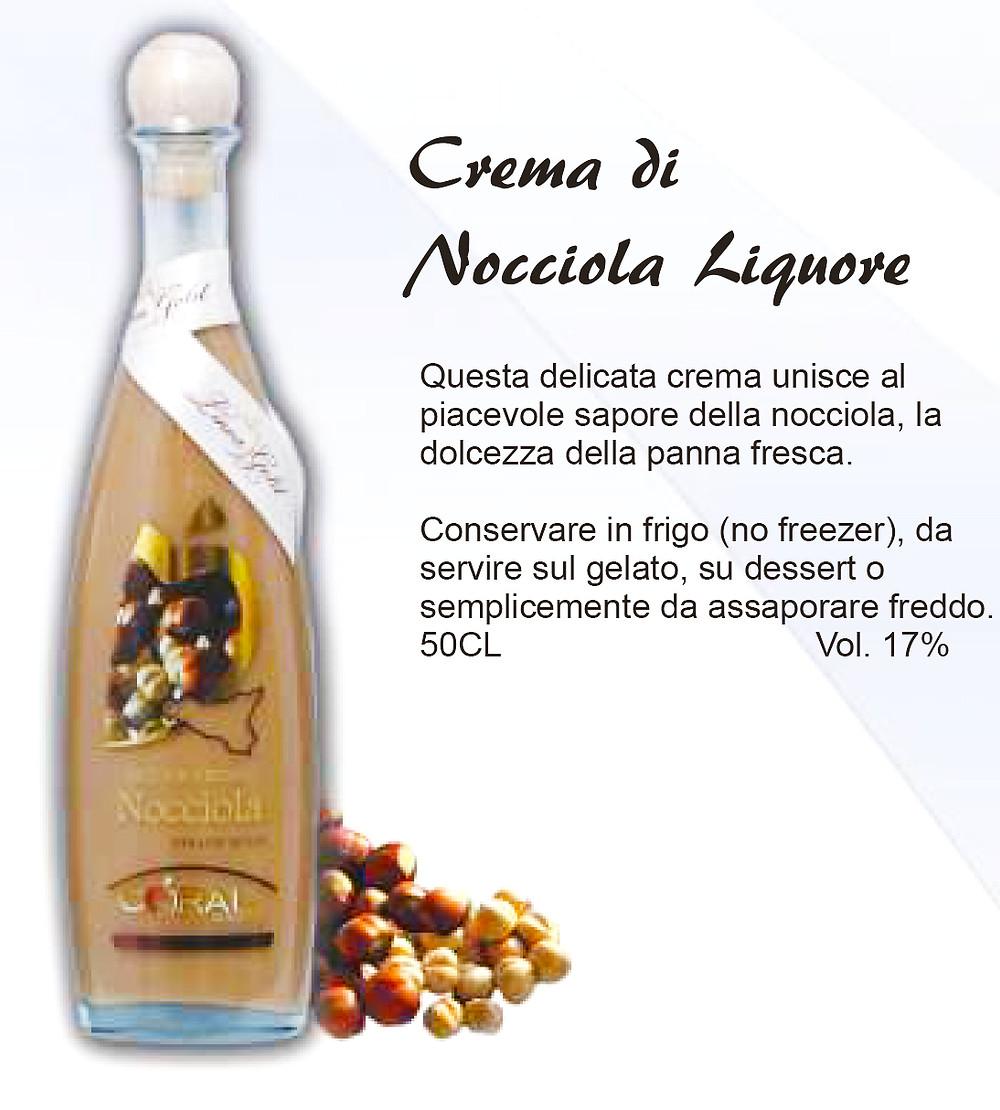 Liquore Siciliano Crema di Nocciola