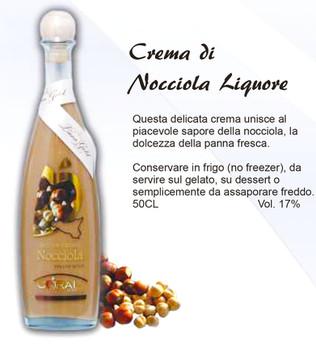 Crema di Nocciola 50cl