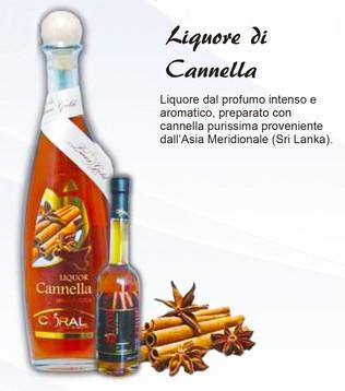 Liquore di Cannella 50cl
