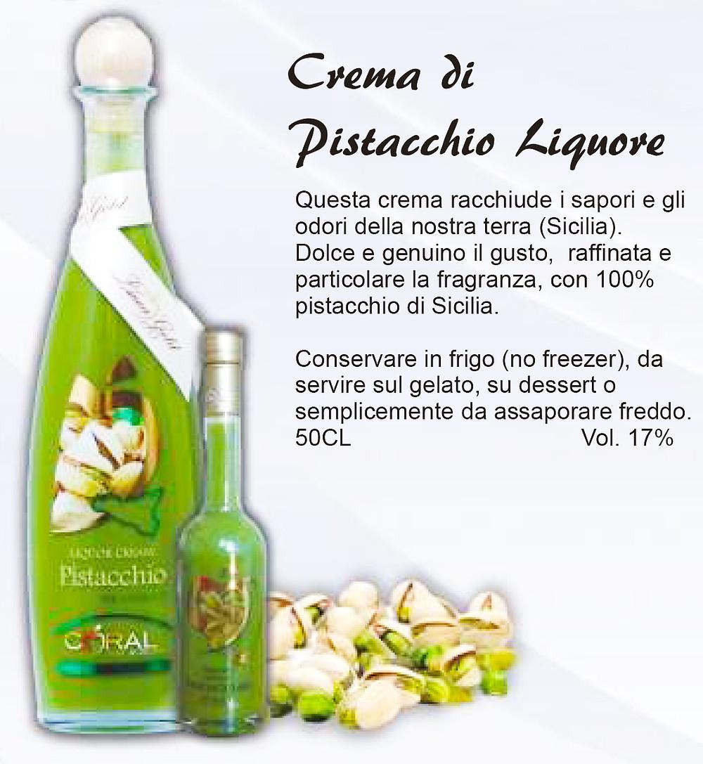 Liquore Siciliano Crema di Pistacchio