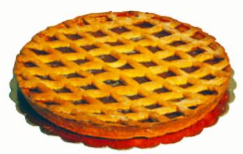 Pasticceria Siciliana Crostata Confettura di Albicocca