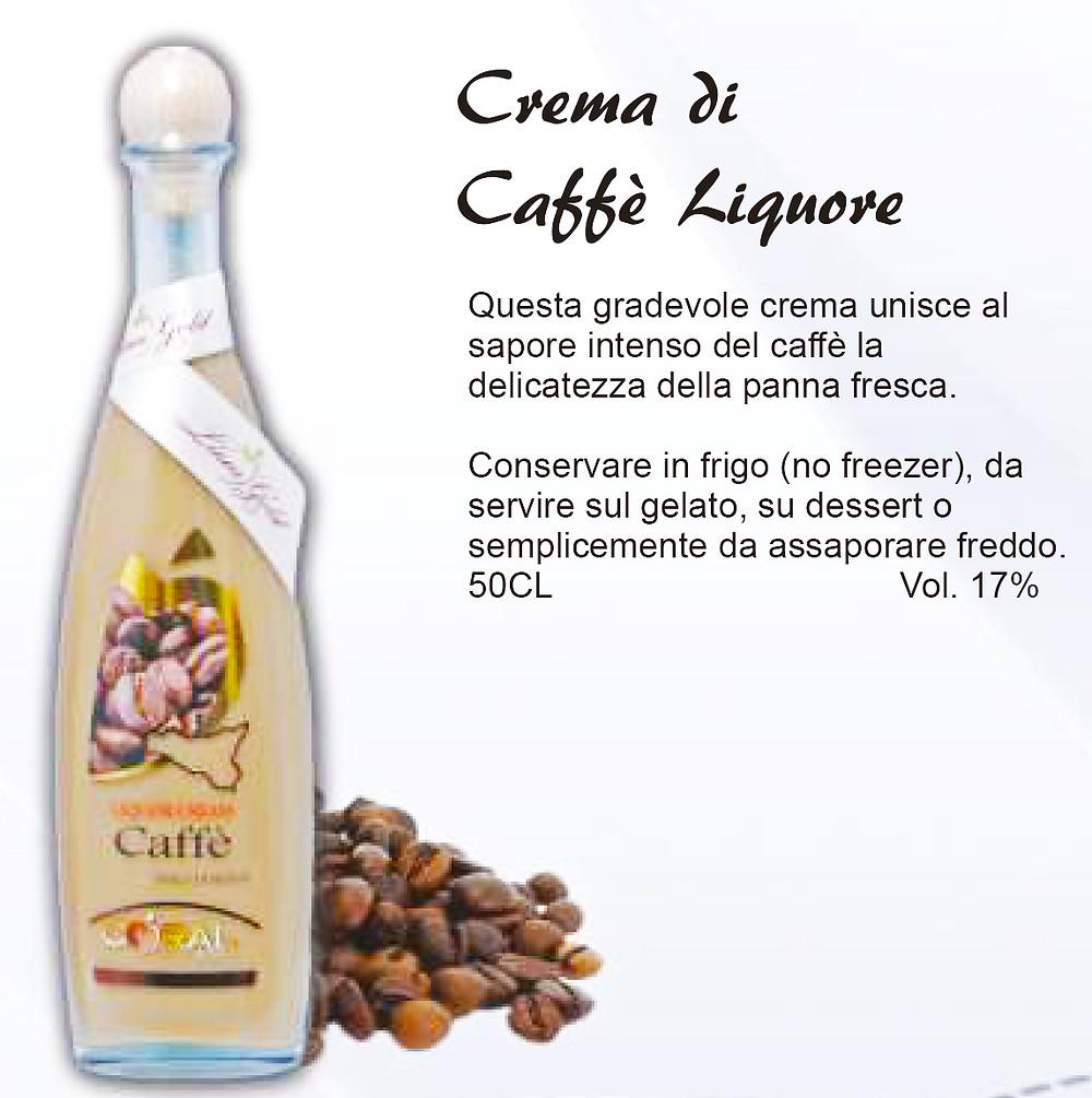 Liquore Siciliano Crema di Caffè
