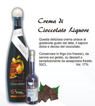 кремовый шоколадный ликёр (упаковка 6 шт)