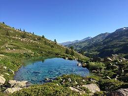 Vallée de Valmeinier, le lac vert