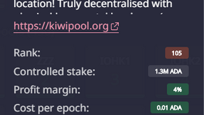 KIWIPOOL (Ticker: KIWI) - Creates its First Block!
