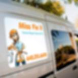 Plaque aimantée camionette Tournai