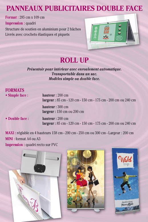 roll'up, banners Tournai