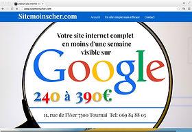 Création de sites internet à Tournai