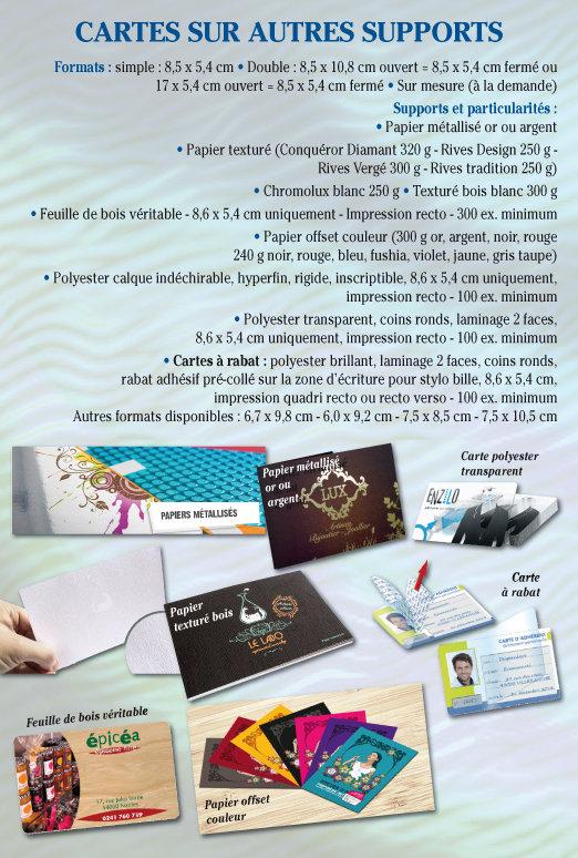 Cartes commerciales Tournai