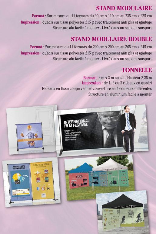 stands modulaires Tournai