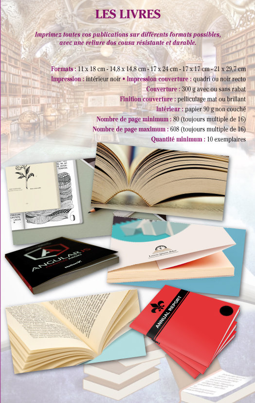 impression livres Tournai