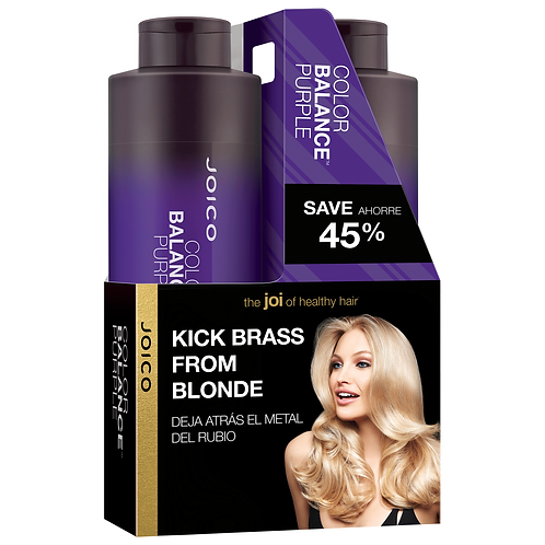 Joico Color Balance Purple Shampoo & Conditoner Set