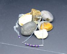 """Amethyst """"Paris"""" necklace"""