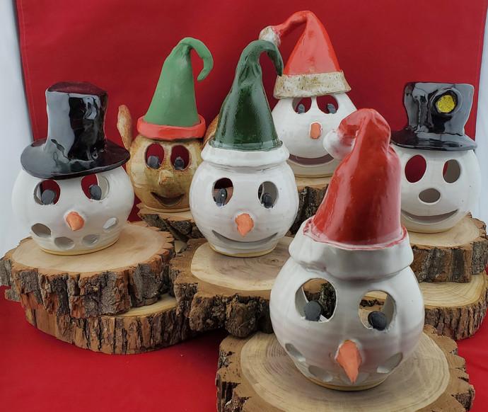 Christmas Tea Lite Lanterns