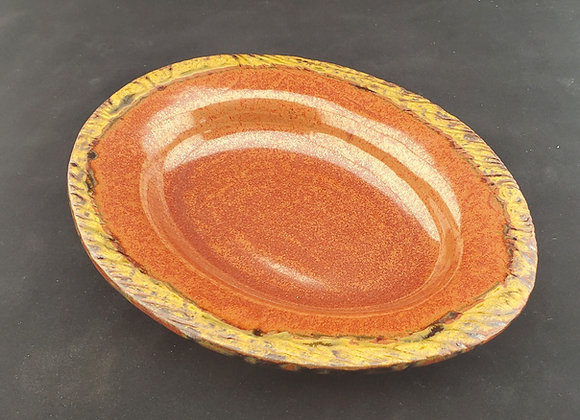 Shallow Oval Bowl