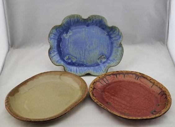 Oval Sandwich Plate