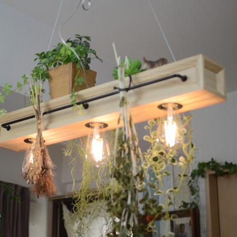 SWAN BOTANIC CAFE3 PENDANT LIGHT