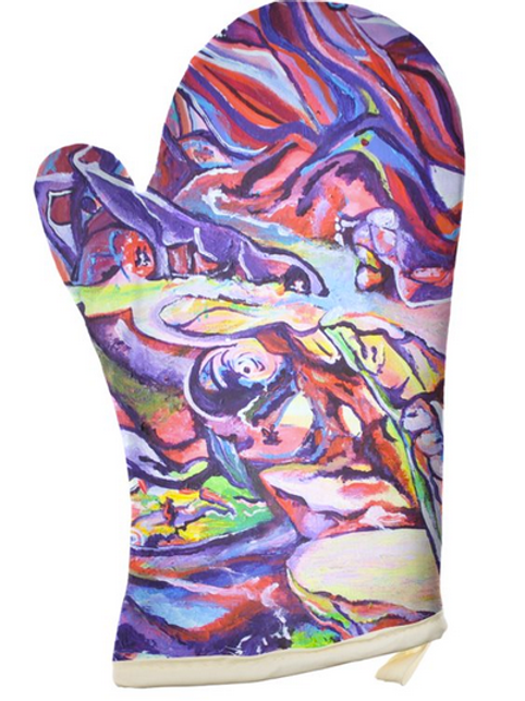 Shadow Work Wizards Oven Mitts