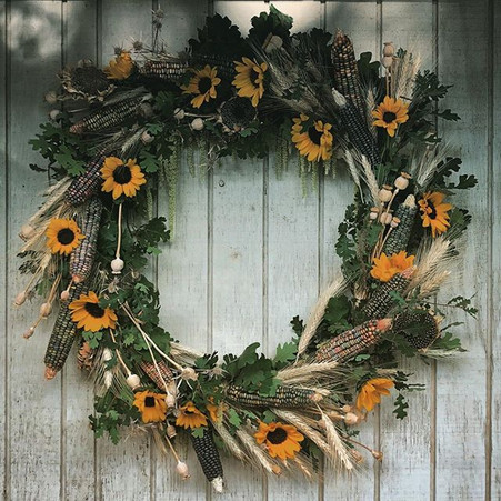 Off to one of my favorite wreath clients