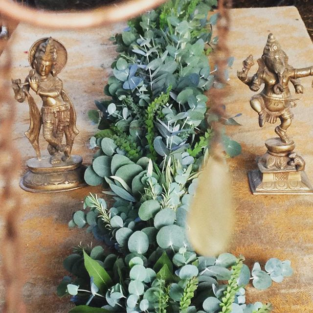 🌿Garland Making🌿_#wholesome #wholesyst