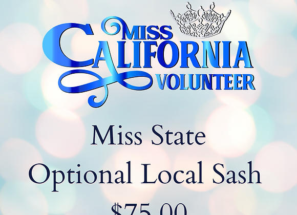 Official Local Sash