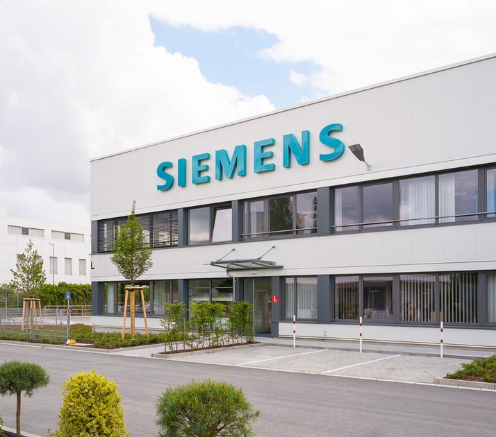 Architekturfotografie Eröffnung Werk L für Siemens