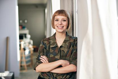 Porträts für Designerin Julia Krotzek