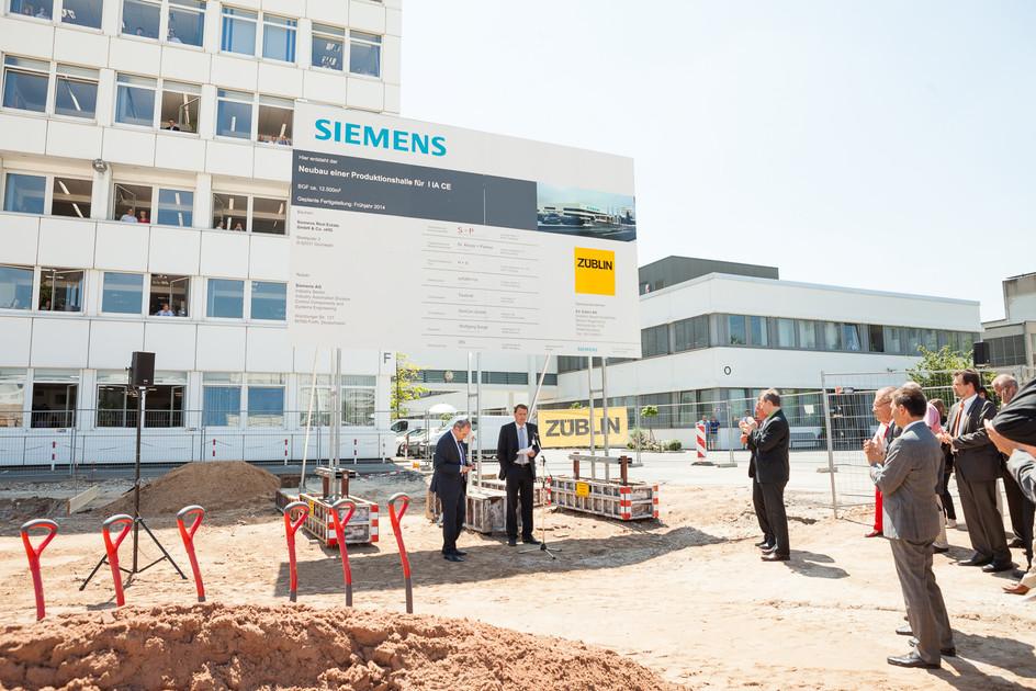 Eröffnung Werk L für Siemens