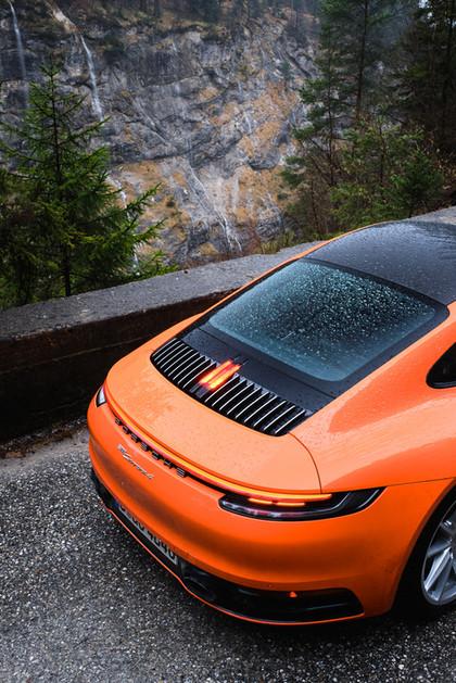 Porsche 992 Wet Mode für 911Magazin