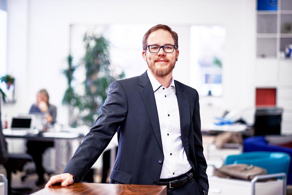 Porträtfoto Büroleitung PR Agenturt Kaltwasser Kommunikation in Nürnberg