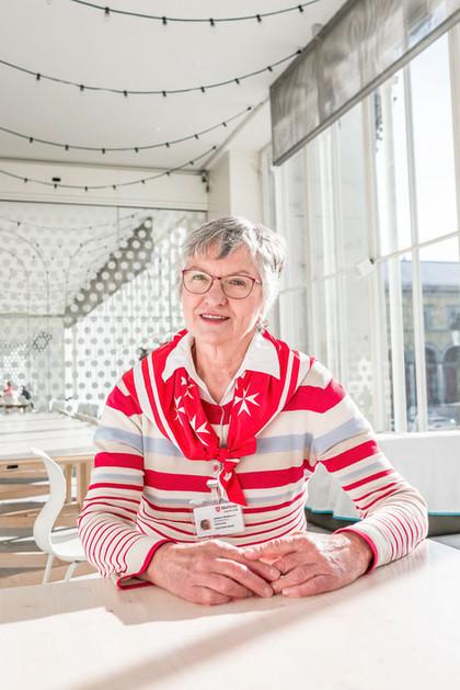 Frau Häusler für DANKE Magazin