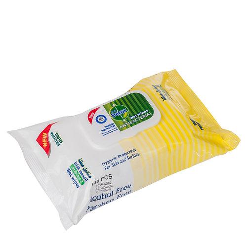 Antibacterial Wipes - 120 pack