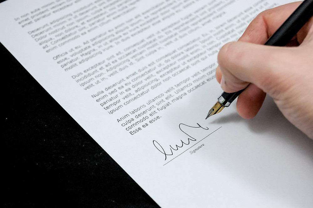 What Documents Can a Notary Public Sign?