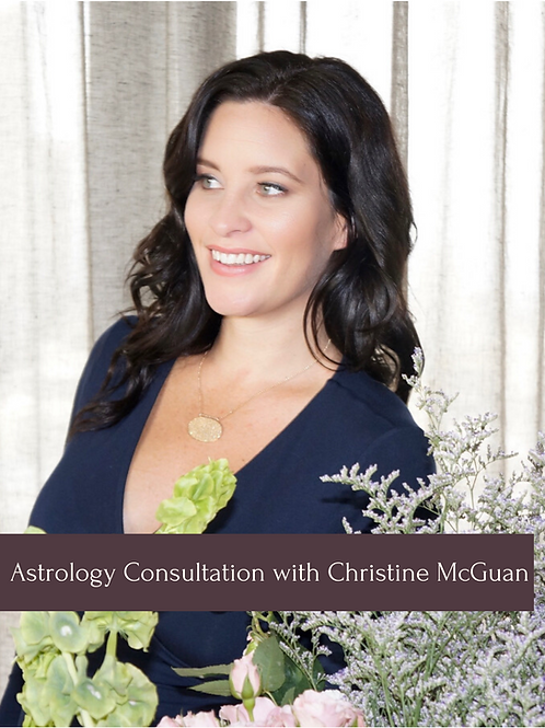 Astrology Consultation with Christine McGuan