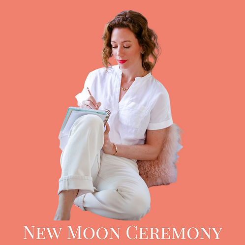 New Moon Ceremony - Virtual Class Recording