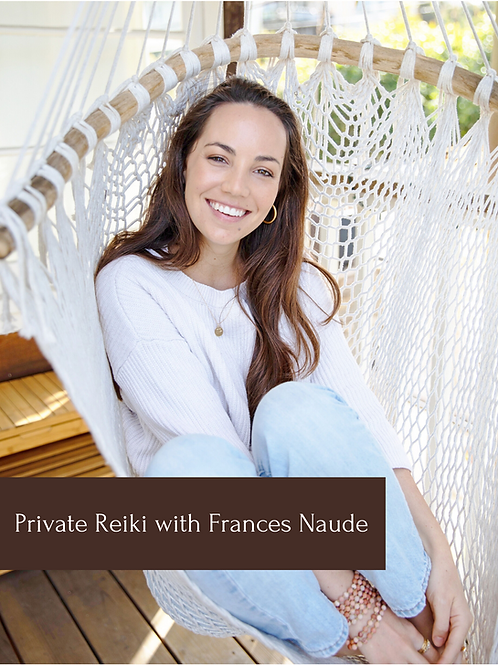 30min Distance Reiki Session with Frances Naude