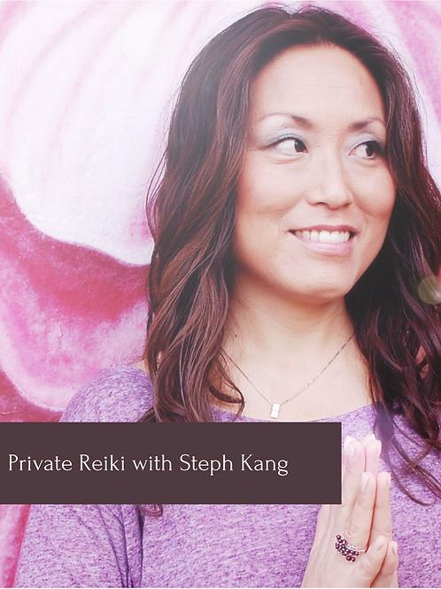 30min Distance Reiki Session with Steph Kang