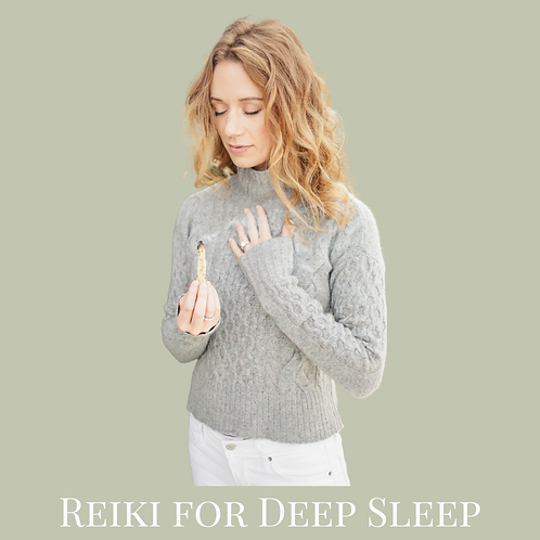 Reiki for Deep Sleep - Virtual Class Recording