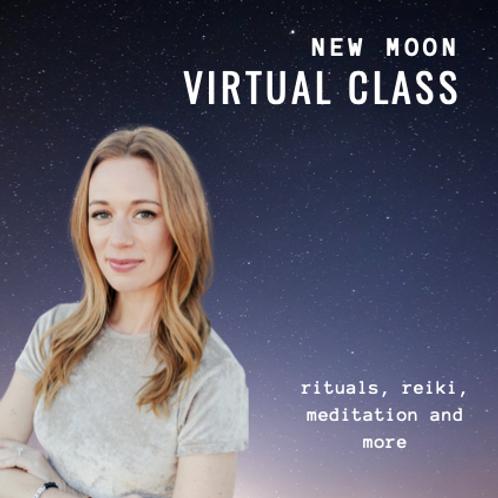New Moon Ceremony - Virtual Class Recording