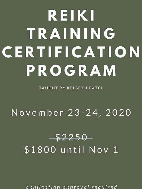 Reiki Master Training Nov 23-24