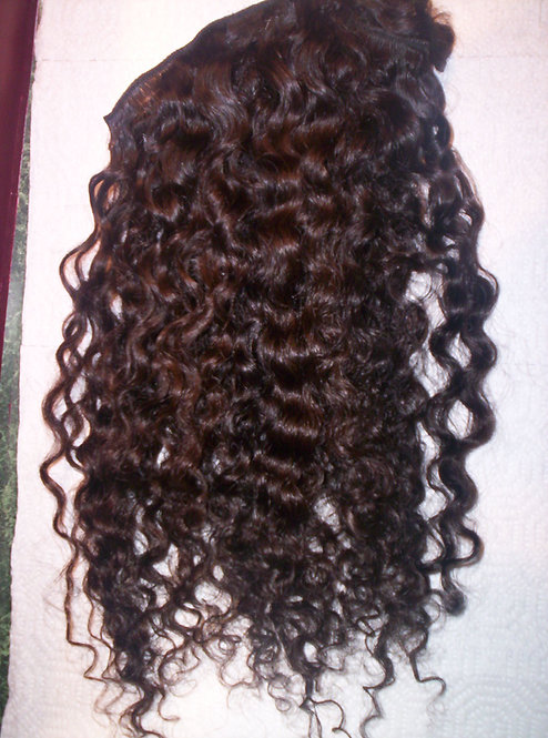 Indian Very Curly Machine Weft (4oz)
